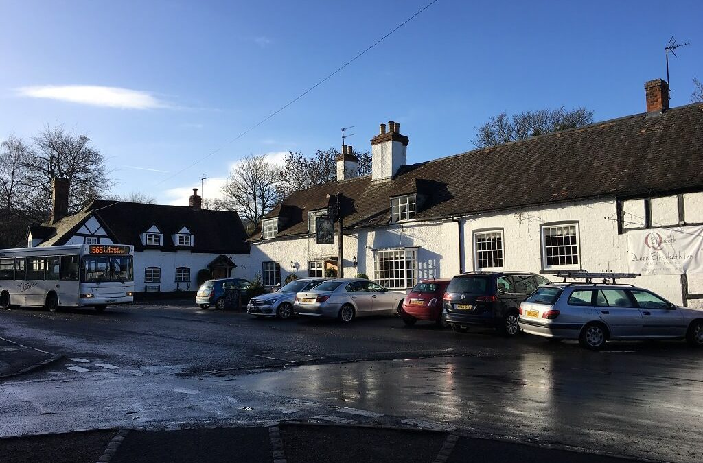 Getting to some of our best Worcestershire Rural Pubs on the bus can be difficult.