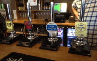 Salopian Brewery Trip