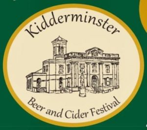 Kidderminster Beer & Cider Festival 2019 7-9 November 2019